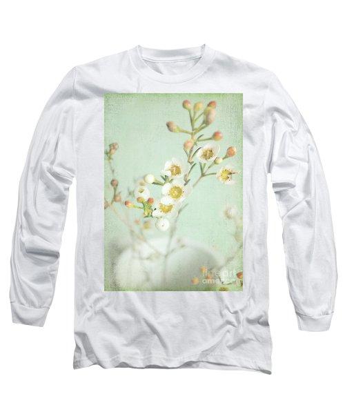 Freesia Blossom Long Sleeve T-Shirt by Lyn Randle