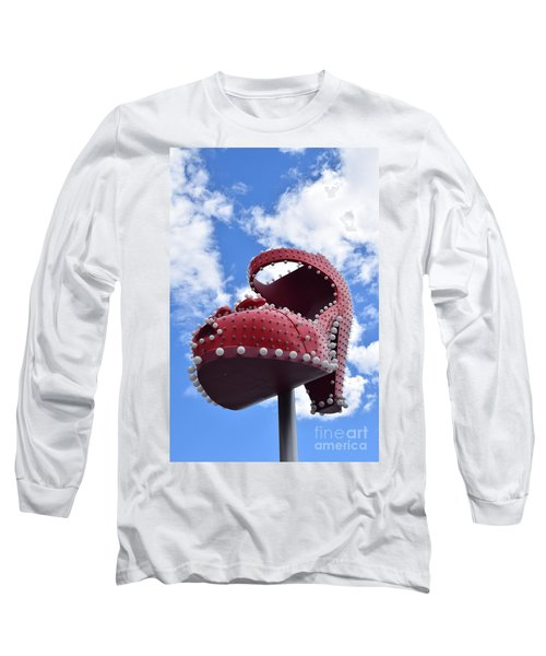 Fremont St. Shoe Long Sleeve T-Shirt