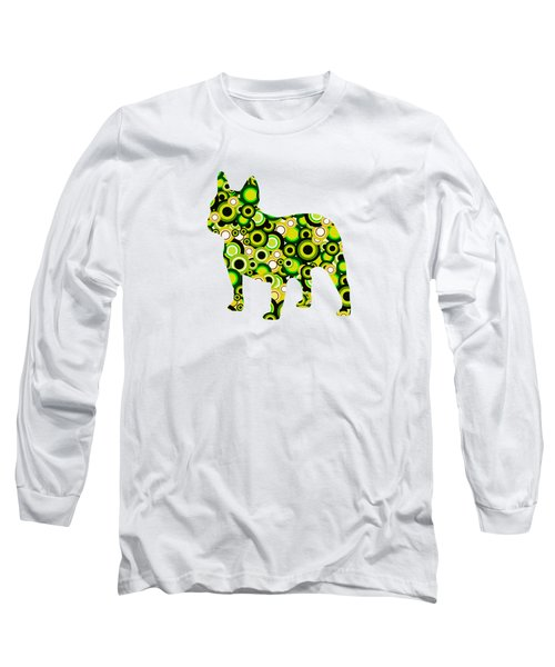 French Bulldog - Animal Art Long Sleeve T-Shirt