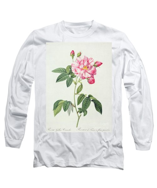 French Rose Long Sleeve T-Shirt