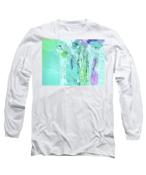 Long Sleeve T-Shirt featuring the digital art French Still Life - 14b by Variance Collections