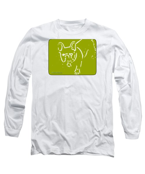 Frenchielove Design Chartreuse Long Sleeve T-Shirt