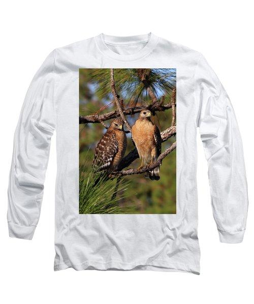 Friendly Raptors Long Sleeve T-Shirt
