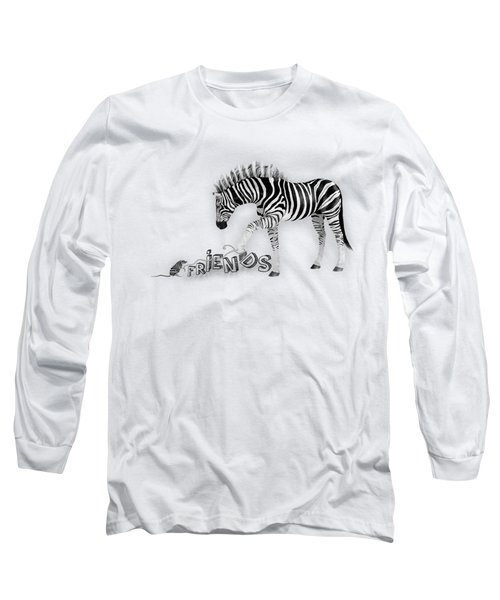 Friends Long Sleeve T-Shirt by Jutta Maria Pusl