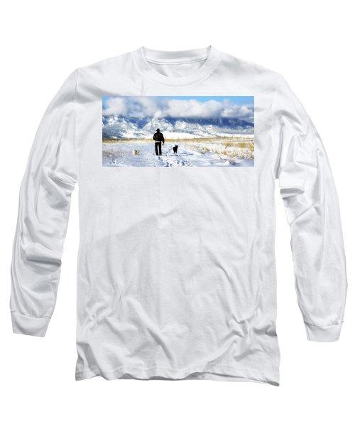 Friends On A Walk Long Sleeve T-Shirt