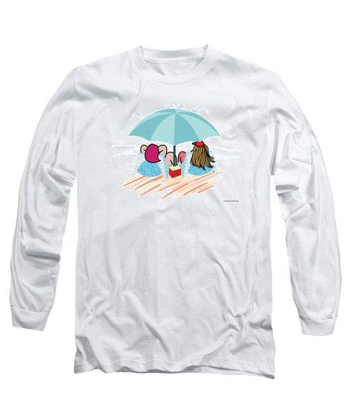 Friends Long Sleeve T-Shirt by Steve Ellis