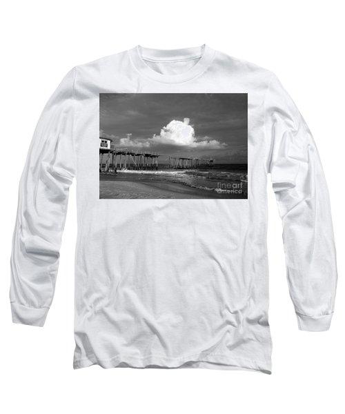 Frisco Pier 2015 B And W  Long Sleeve T-Shirt