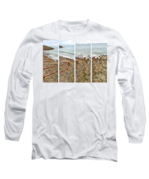 Long Sleeve T-Shirt featuring the photograph From Ship To Shore by Stephen Mitchell