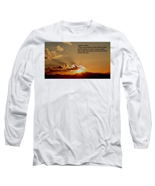 From The East To The West Long Sleeve T-Shirt