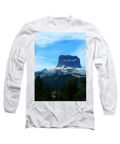 Frosty Chief Mountain Long Sleeve T-Shirt