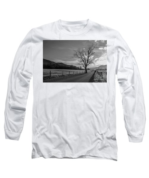 Frosty Morn Long Sleeve T-Shirt by Marilyn Carlyle Greiner