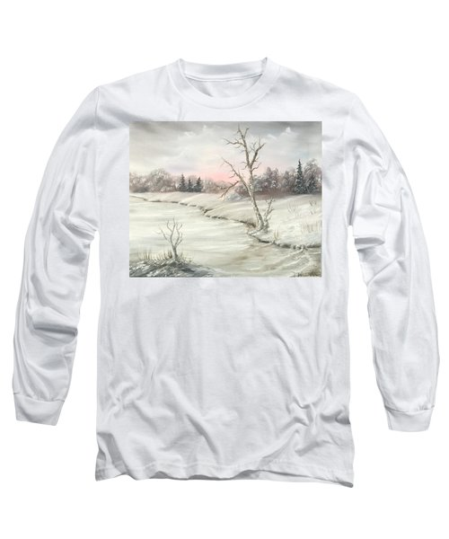 Frosty Winter Morning  Long Sleeve T-Shirt