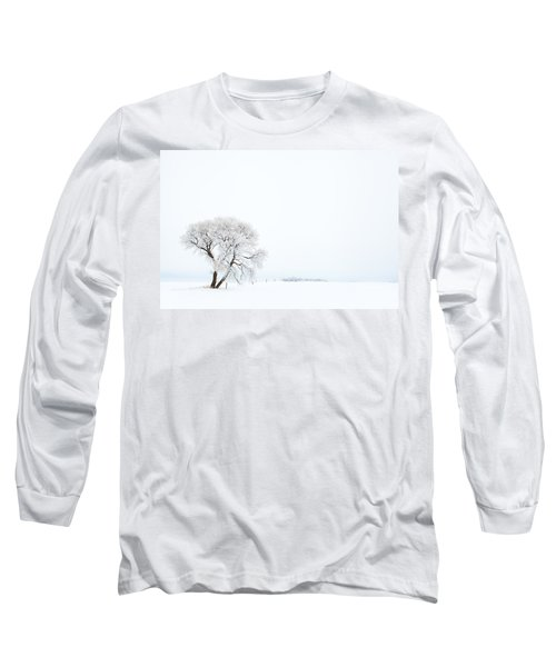 Long Sleeve T-Shirt featuring the photograph Frozen Morning by Yvette Van Teeffelen