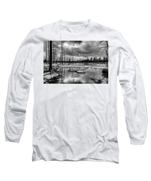 Frozen Mullica River Long Sleeve T-Shirt