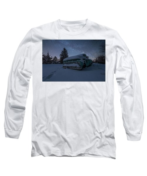 Long Sleeve T-Shirt featuring the photograph Frozen Rust  by Aaron J Groen
