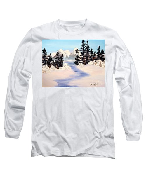 Frozen Tranquility Long Sleeve T-Shirt