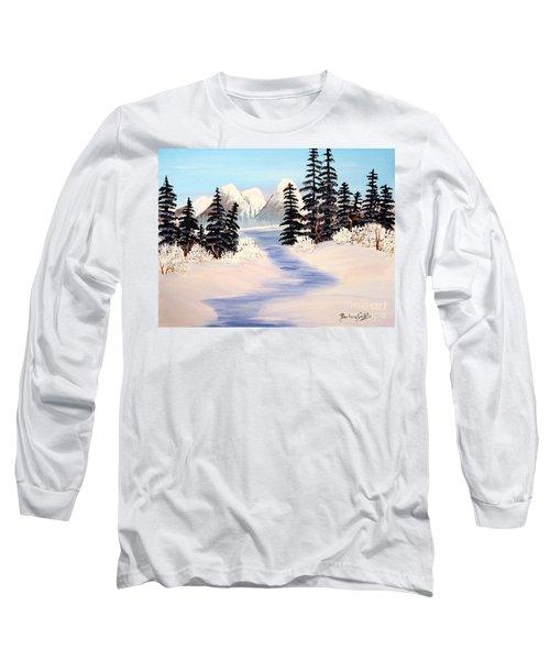 Frozen Tranquility Long Sleeve T-Shirt