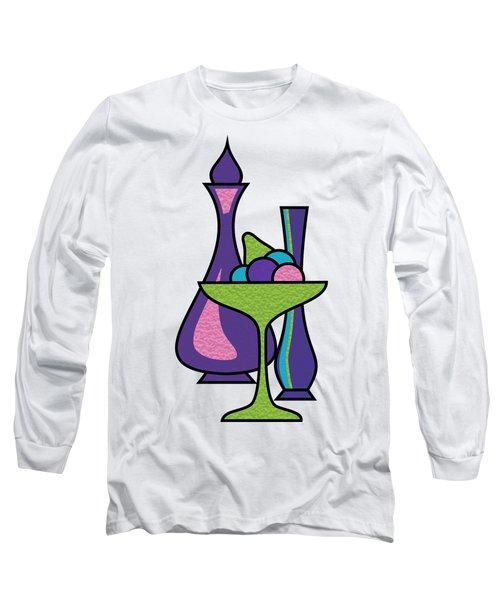 Fruit Compote Transparent Long Sleeve T-Shirt