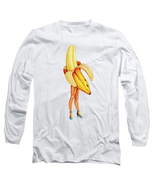Fruit Stand - Banana Long Sleeve T-Shirt
