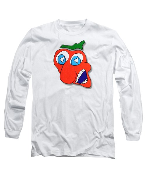 Fu Party People - Peep 013 Long Sleeve T-Shirt by Dar Freeland