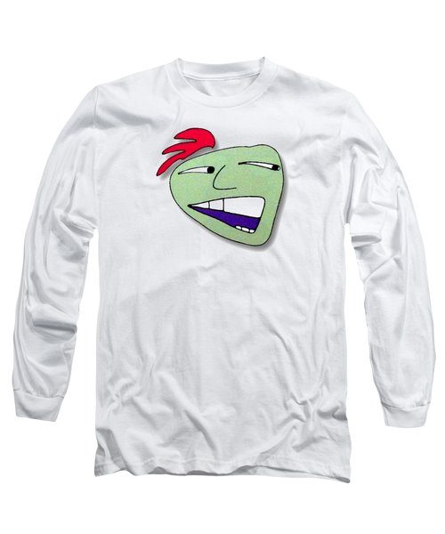 Fu Party People - Peep 019 Long Sleeve T-Shirt by Dar Freeland