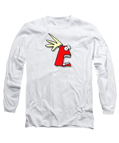 Fu Party People - Peep 023 Long Sleeve T-Shirt by Dar Freeland