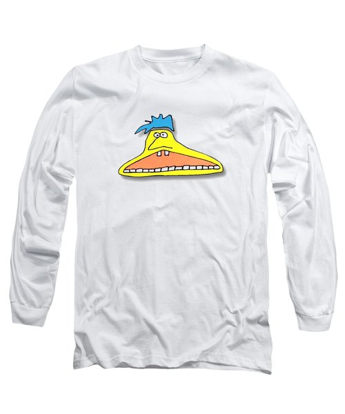 Fu Party People - Peep 026 Long Sleeve T-Shirt by Dar Freeland
