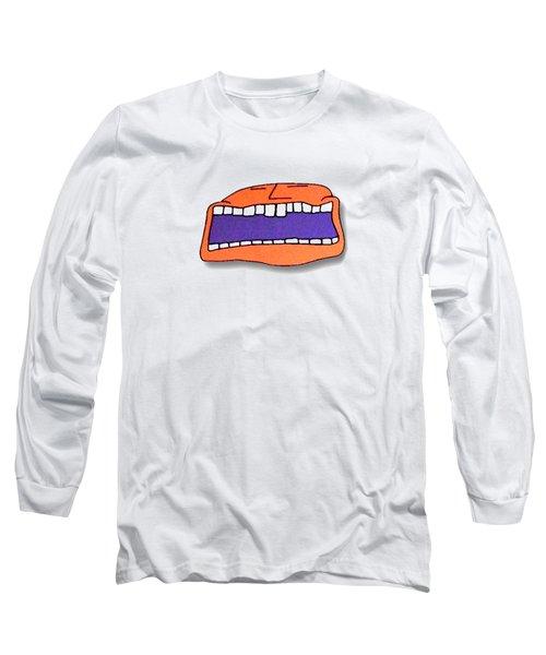 Fu Party People - Peep 041 Long Sleeve T-Shirt by Dar Freeland