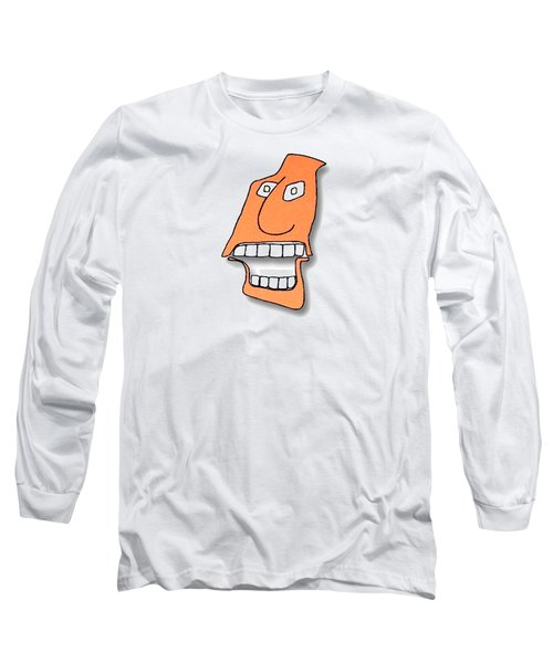 Fu Party People - Peep 127 Long Sleeve T-Shirt by Dar Freeland