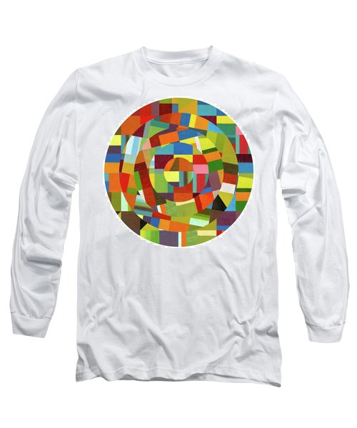Long Sleeve T-Shirt featuring the painting Full Tilt by Michelle Calkins