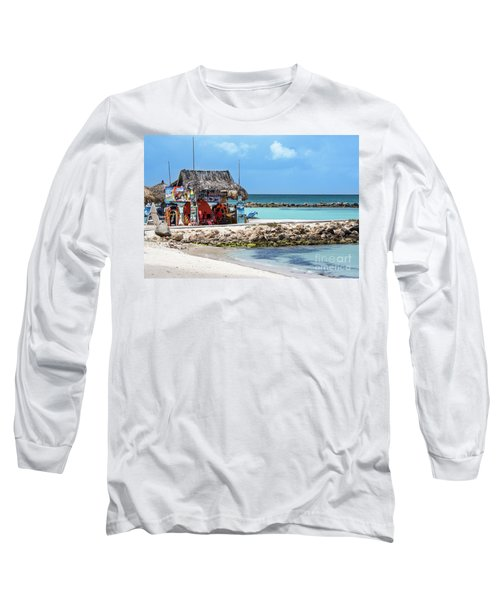 Fun In The Sun Long Sleeve T-Shirt by Judy Wolinsky