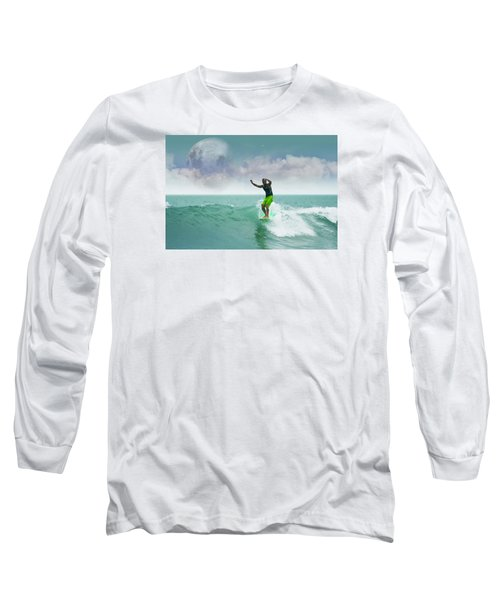 Funday Sunday Long Sleeve T-Shirt by William Love