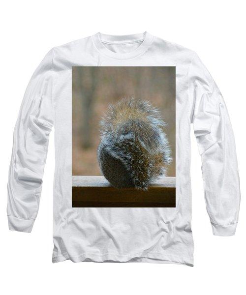 Fur Ball Long Sleeve T-Shirt