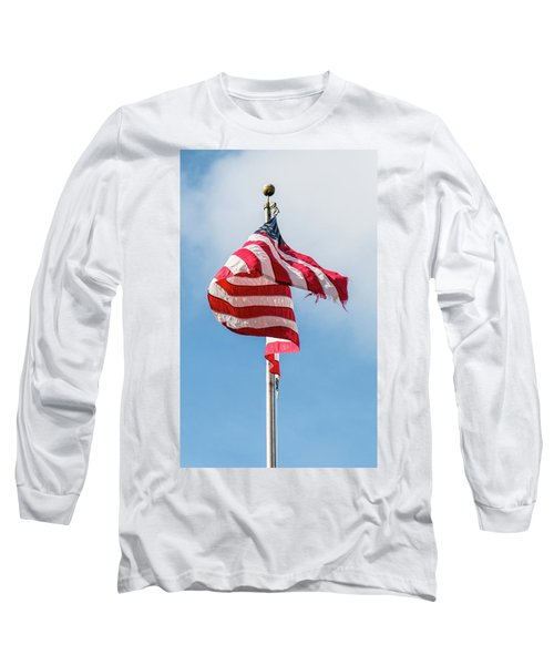 Furled In The Wind Long Sleeve T-Shirt