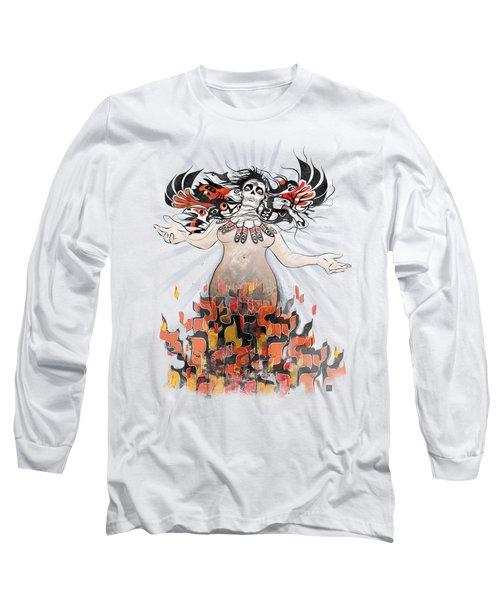 Gaia In Turmoil Long Sleeve T-Shirt