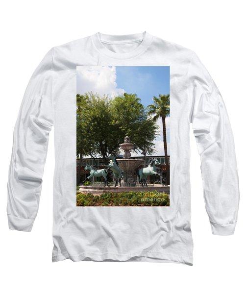 Galloping Water Horses Long Sleeve T-Shirt