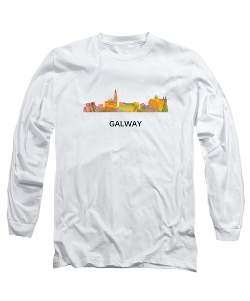 Galway Ireland Skyline Long Sleeve T-Shirt