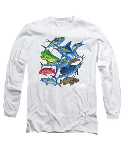 Gamefish Collage Long Sleeve T-Shirt