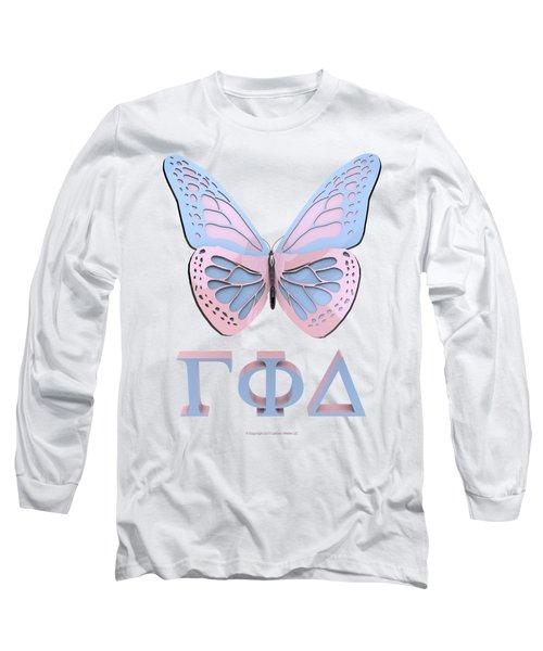 Gamma Butterfly Wings 3d Long Sleeve T-Shirt