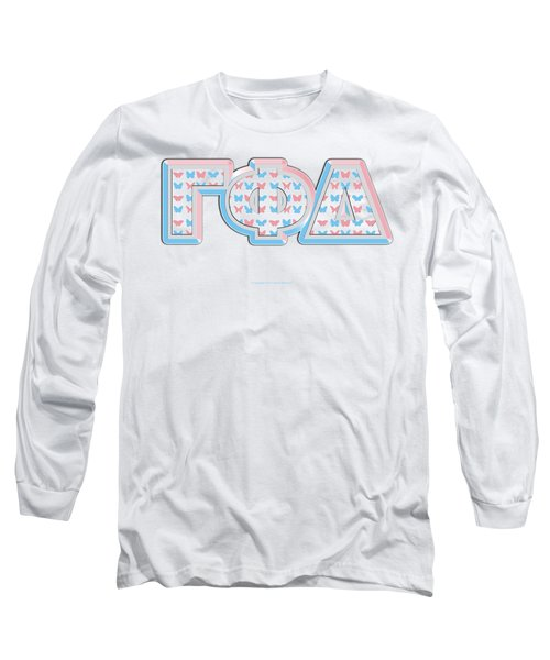 Gamma Phi Delta Greek Long Sleeve T-Shirt