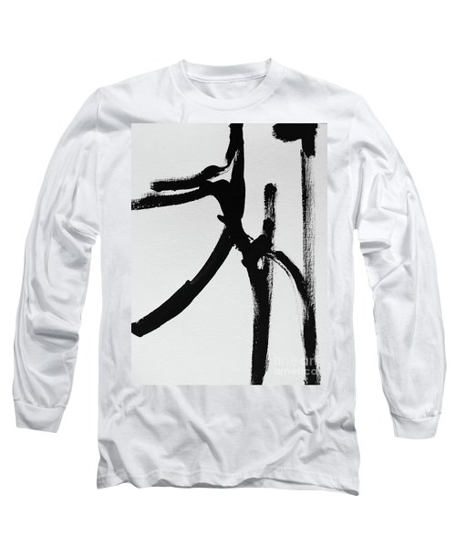 Long Sleeve T-Shirt featuring the painting Gamut by Robin Maria Pedrero