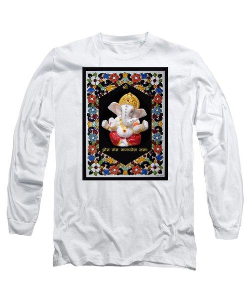 Ganesha Frame Long Sleeve T-Shirt