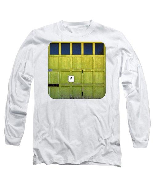 Long Sleeve T-Shirt featuring the photograph Garage Door by Ethna Gillespie