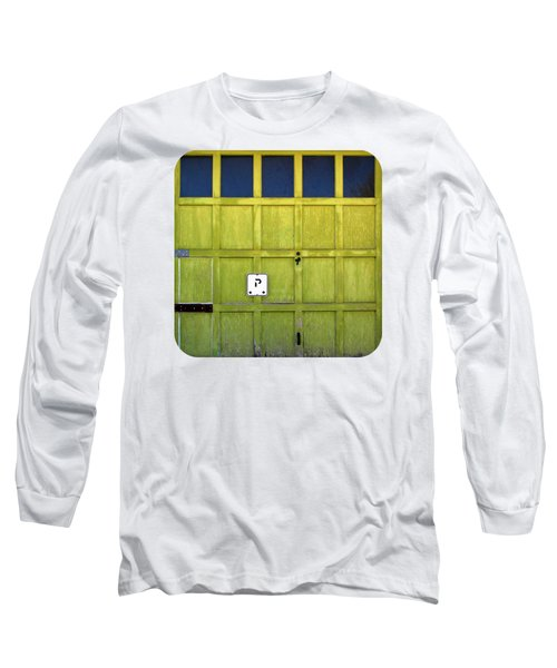 Garage Door Long Sleeve T-Shirt