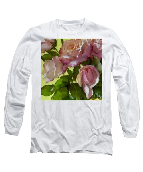 Garden Elegance Detail Image Long Sleeve T-Shirt
