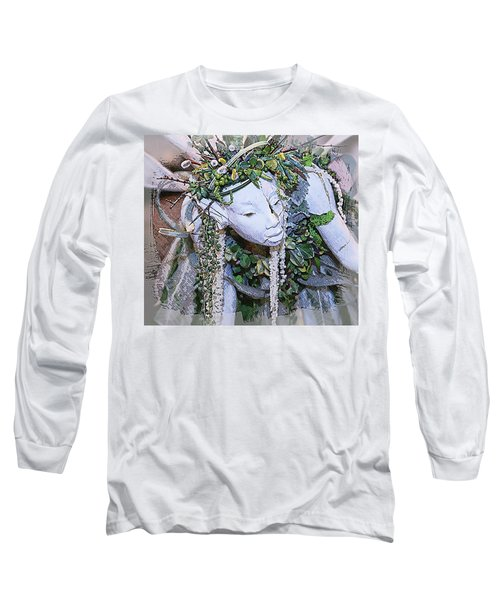Garden Fairy Long Sleeve T-Shirt by Patrice Zinck
