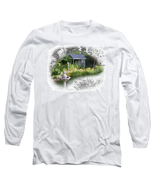 Garden House Long Sleeve T-Shirt