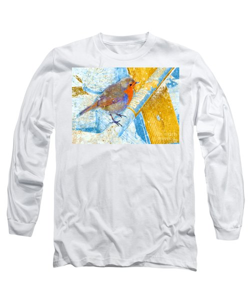 Garden Robin Long Sleeve T-Shirt
