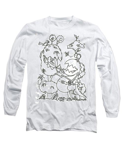 Gardening Monster Long Sleeve T-Shirt