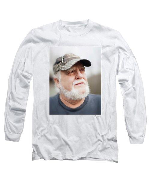 Gary Long Sleeve T-Shirt by Glenn Gemmell